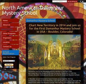 Damanhur_Website